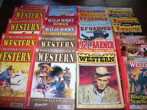 80 verschiedene Western Romane/ Sammlung
