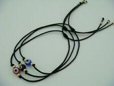 3 PCS SET BRACELET Lucky Black String Braided Kabbalah Evil Eye Protection Charm
