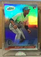 2010 ETOPPS IN HAND AUSTIN JACKSON CLEVELAND INDIANS TIGERS ROOKIE CARD /999