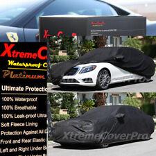 2016 2017 MERCEDES-BENZ S550 S600 SEDAN WATERPROOF CAR COVER W/MIRRORPOCKET BLK