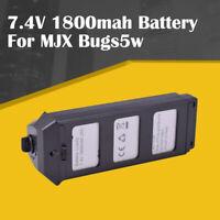 7.4V 1800mah 25C Lipo Battery For MJX B5 B5W Bugs 5 Quadcopter Brushless Drone