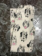 New With Tag Gap Kids Girls Disney Leggings In French Terry Size L(10)