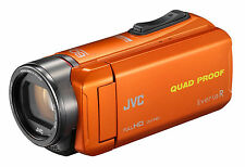 JVC GZ-R435 4 GB Camcorder - Orange