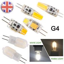 G4 LED COB 2W 3W 6W Bombilla Luz Lámpara de Cápsula Bombillas Halógenas reemplazar DC 12V Reino Unido