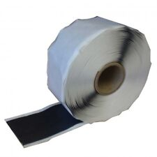 Double Sided Butyl Rubber Pond Liner Cold Glue Repair Tape Jointing 50mm x 10Mtr