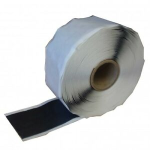 Double Sided Butyl Rubber Pond Liner Cold Glue HDP Repair Joint Tape 50mm x 10mt