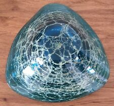 LARGE MDINA ART STUDIO GLASS BOWL.