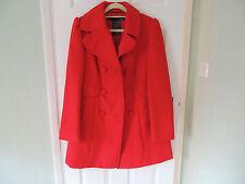 Ladies Red Winter Coat Size 12 BRAND NEW WT
