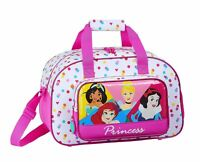 Disney PRINCESS Sports Holdall Bag Travel School Overnight PE Bag BE BRIGHT 40cm