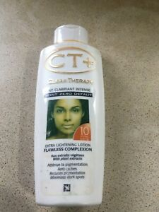 CT+ CLEAR THERAPY Extra Lightening COMPLEXION Lotion 250ml Expired 12/18