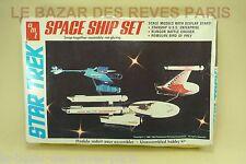AMT. ERTL.  STAR TREK. SPACE SHIP SET.    Vintage kit 1983.