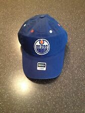 NHL Licensed Edmonton Oilers Women's Reebok Adjustable Hat New