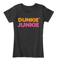 Dunkie Junkie - Dunkie'junkie Women's Premium Tee T-Shirt