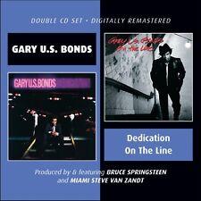 "Gary ""U.S."" Bonds, G - Dedication / on the Line [New CD] UK - Impor"