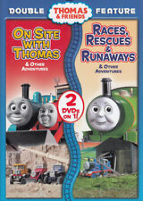 THOMAS AND FRIENDS - ON SITE WITH THOMAS / RACES, RESCUES AND RUNAWAYS (DO (DVD)