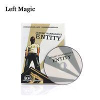 Entity (DVD+Gimmick)By JEREMY HANRAHAN Magic Tricks Close-Up Street Magic Props