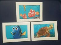FINDING NEMO FRAMED PICTURES, ADORABLE and FUN! -FREE SHIPPING