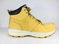 New Men's Nike  Manoa Leather Boots Haystack 454350 700 US - 10½