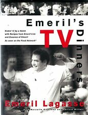 1998 Emeril's TV Dinners Recipes Cookbook from Emeril Lagasse
