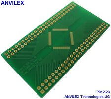 3 x  TQFP100 (13,40mm x 13,40mm) Adapter P012.23
