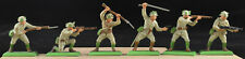 Britains Deetail WWII Japanese - 54mm painted plastic figures metal bases - 1973