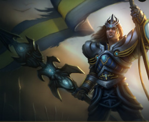 League of Legends Account NA* MOST RARE SKIN Victorious Jarvan IV*20 skins Gold