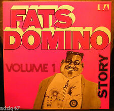♫ 33 T  VINYL - FATS DOMINO - STORY - VOLUME 1 - UNITED ARTISTS RECORDS ♫
