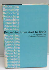 Photo Retouching from Start to Finish Cass 1979 Book - English - USED F17