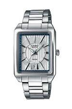 Casio Collection Herrenuhr Edelstahl Silber Datum Analog BEM-120D-7AVEF