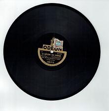 78T BACH & Henry LAVERNE Disque Phonographe CHEZ LE DOCTEUR - ODEON 165713 RARE