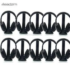 10X 5in1 Wireless Headphone Headset FM Transmitter + Audio Cable for PC TV