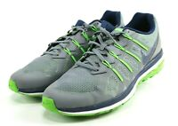 Nike Air Max Dynasty $130 Men's Running Trainers Shoes Size 13 Gray Green Blue