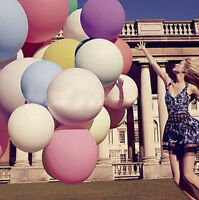 "5 X Giant Big Ballon HA Latex Birthday OU Wedding Party Helium Decoration 12"""