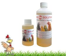 RED STOP SOLUTION 100ml RED MITE RED MITE KILLER CHICKENS POULTRY BIRDS PIGEON