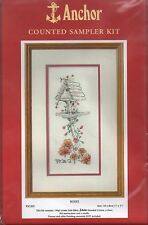 ANCHOR CROSS STITCH KIT 14 count ROSES