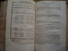 ANNALES MARITIMES ET COLONIALES,Ord.ROYALES.BAJOT.ANNEE 1833.1° partie TOME LI