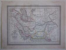1864 IRAN REGNI DI PERSIA map Guigoni Doyen ايران Afghanistan افغانستان Pakistan