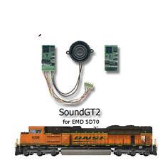 EMD SD70, SD75, GP60 Diesel  SoundGT2.1 DCC decoder for MTH, ATHEARN, KATO.