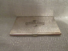 Universal Studios Stores Silver Plated Card Case
