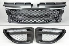 Range Rover Sport 06-09 Gunmetal Front Bumper Hood Grill & Side Fender Vents