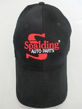 Spalding Auto Parts Pull Save Black Adjustable Baseball Golf Cap Hat