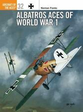 Aircraft of the Aces 32: Albatros Aces of World War 1 by Norman Franks