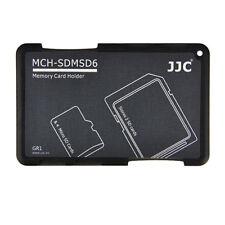 Carte Mémoire Flash Rangement Organiseur Boîte pour 4 Cartes Micro SD 2 Carte SD