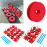 8/16Pcs Foam Winding Board Fishing Line Spools Bobbin Tackle Tool Box Durable