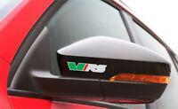 5x Aufkleber Skoda vRS für Rückspiegel, Räder, Bremssättel Logo Simbol Octavia