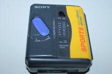 Sony Wm-Fs393 Stereo Cassette Tape Player Sports Walkman Am / Fm Z