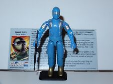 1983 GI JOE SNAKE EYES v1.5 100% COMPLETE w/ FILE CARD C9+ 1988 FUNSKOOL INDIA