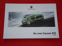 PORSCHE Cayenne 92A GTS Hardcover Prospekt von 2012