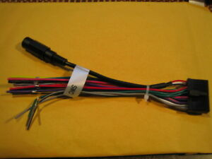 Jensen VX4024 Wire Harness with SWC(Steering Wheel Control) Jack