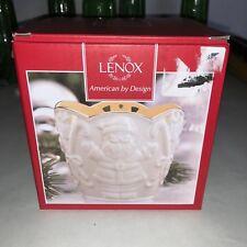 "Lenox American by Design Merry Lights 3.5"" Santa Tea Light Votive - New"